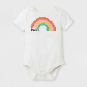 Infant Girls Rainbow Bodysuit Peqeno Milagrito